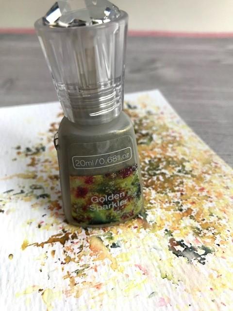 NEW - Nuvo - Shimmer Powder - Golden Sparkler - 1218N