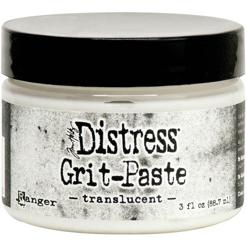 Distress Grit-Paste - translucent