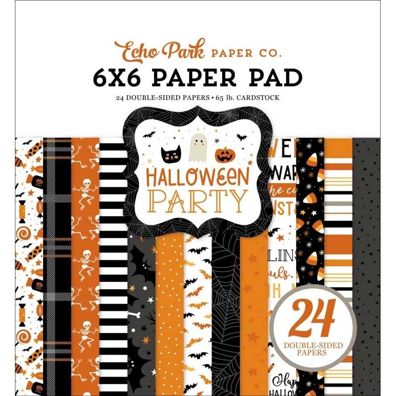Echo Park Halloween Party 6x6 Paper Pack