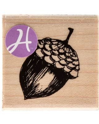 Acorn Rubber Stamp PS1118