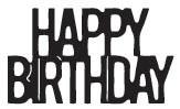 Happy Birthday Stacked Die (10227)