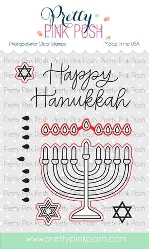 Pretty Pink Posh Happy Hanukkah dies