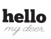 Hello My Deer (1469c)