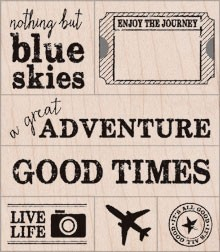A Great Adventure Stamp Set.