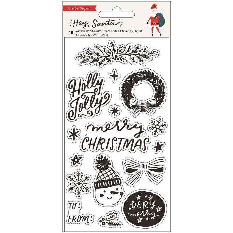 Hey Santa Stamp Set