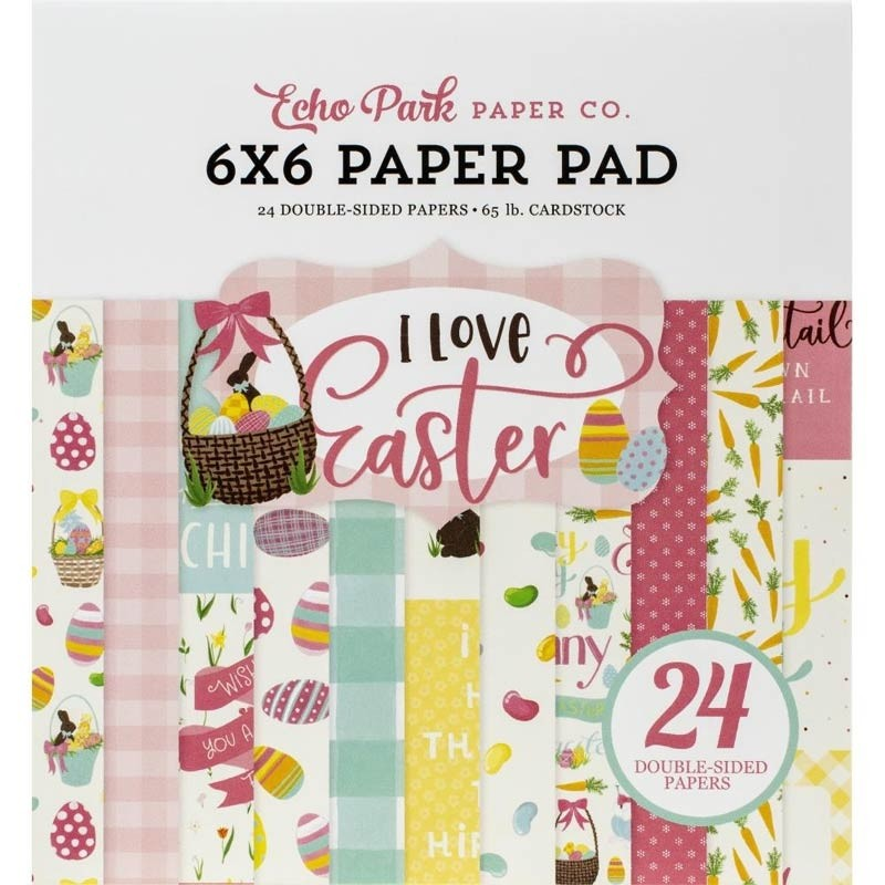 Echo Park I Love Easter paper pack