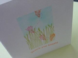 Butterflies in the grass