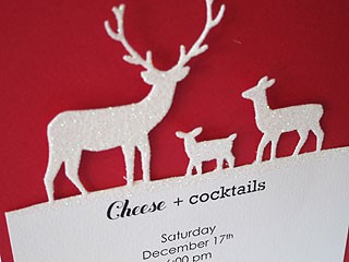 Deer Party Invitation