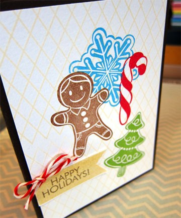 Cookie Card w/banner