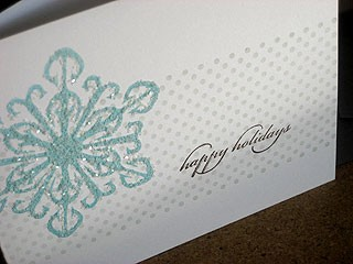 Frosty Snowflake