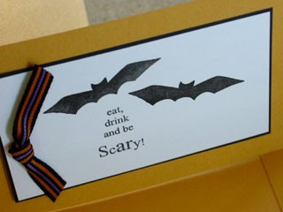 Eat, Drink and be Scary Invite