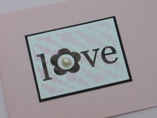 Love Pearl Card