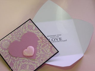 Mini Valentine Envelope