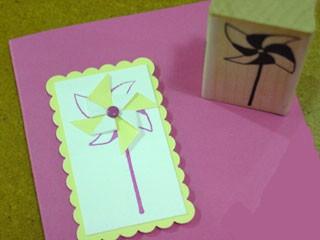 A Pinwheel Card