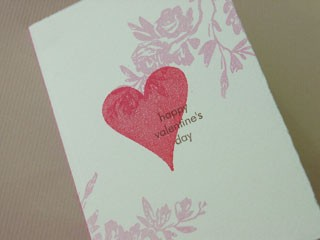 Rose Heart Card
