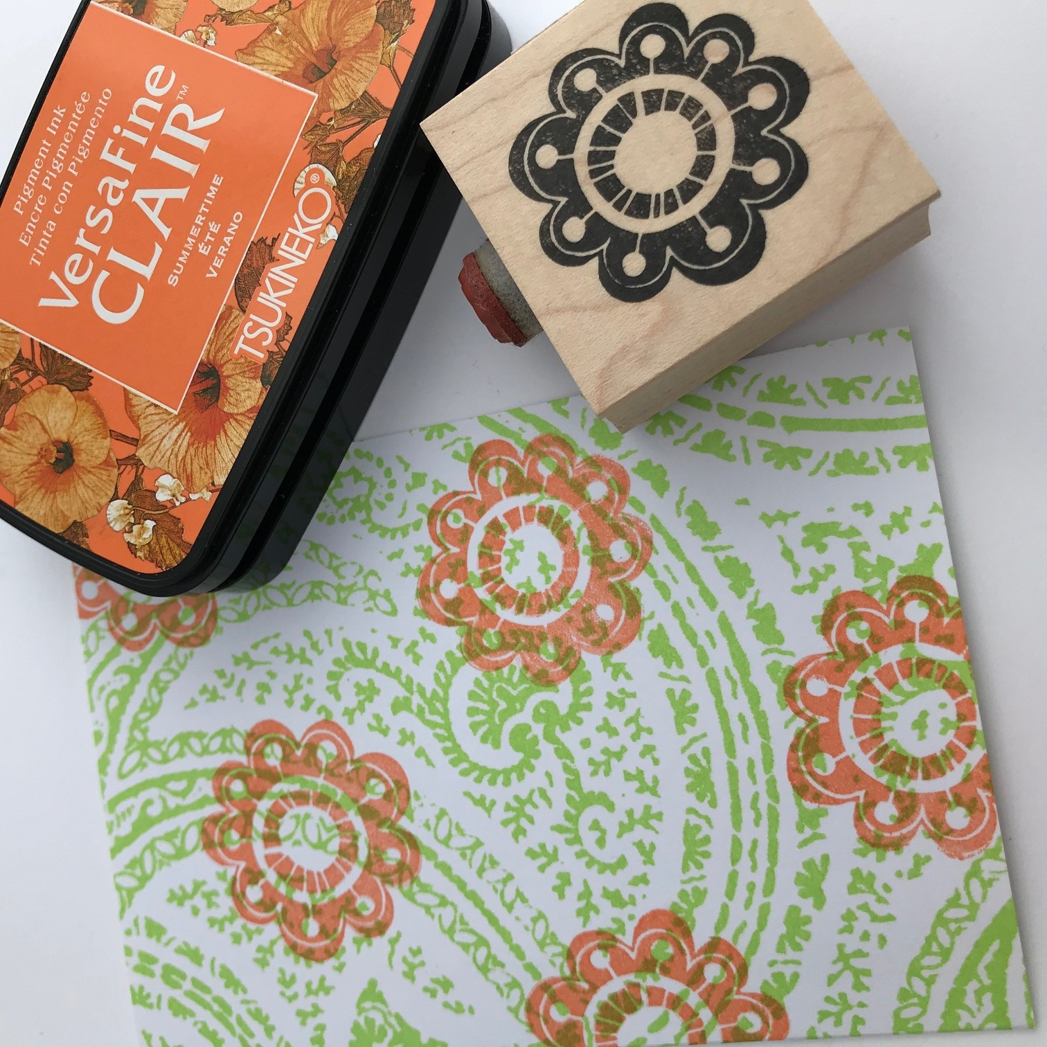 DAILY DEAL - flower stamp