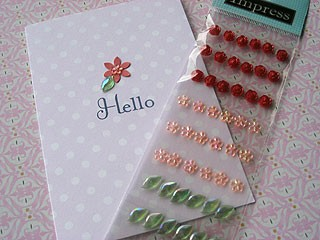Mini Flower Stickers