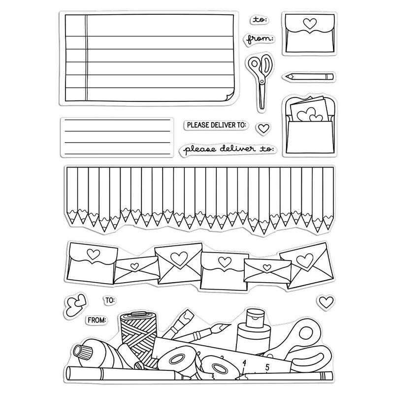 Ink Blot Shop Please Deliver Clear Set pr106