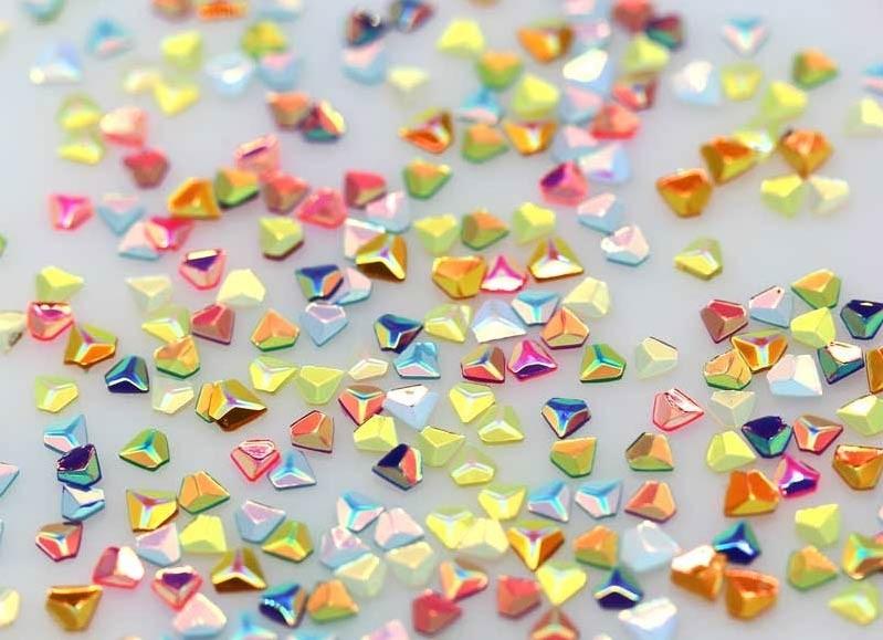HAI Iridescent Rainbow Diamonds