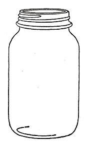 Mason Jar Stamp