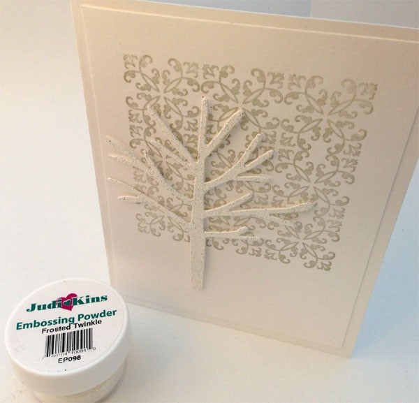 Frosted Twinkle Embossing Powder