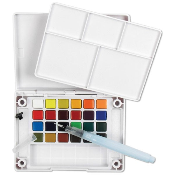 Koi Watercolor Set - 24 colors