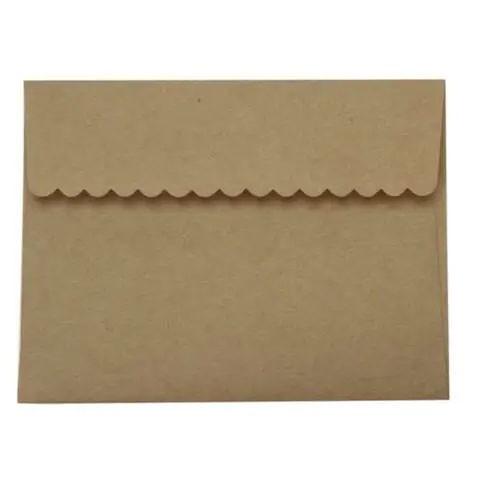 Kraft Decco Flap Envelopes A2