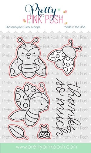 Pretty Pink Posh Ladybug Fiends Dies