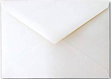 Solar White Envelopes