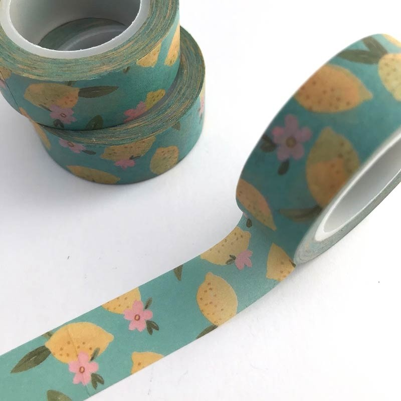 Sweet Lemon Washi Tape