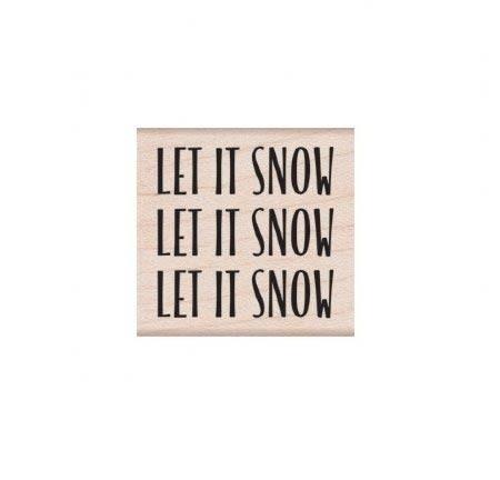 Hero Arts Let it Snow Message D6243