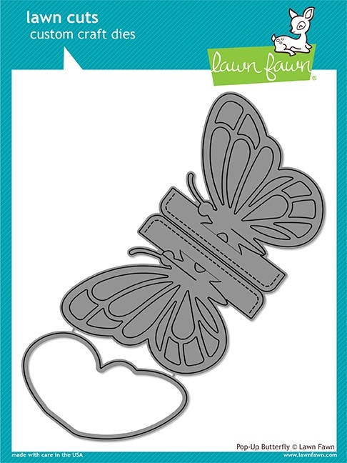 Lawn Fawn pop-up butterfly die