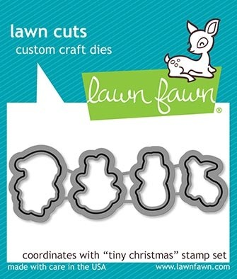 Lawn Fawn tiny christmas - lawn cuts lf2023