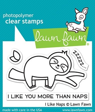 Lawn Fawn i like naps LF2163