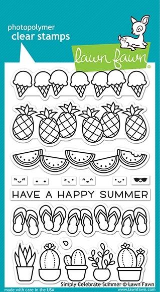 Lawn Fawn simply celebrate summer LF2333