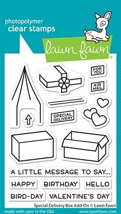 Lawn Fawn Special Delivery Box Add On lf2468