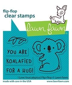 Lawn Fawn i love you(calyptus) flip-flop LF2564