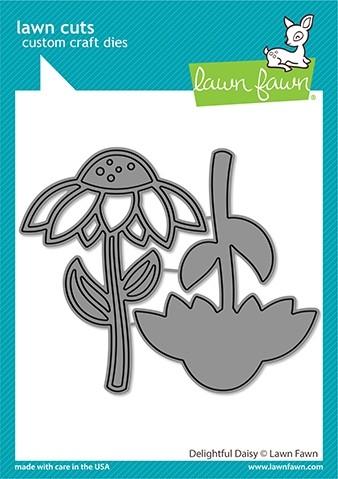 Lawn Fawn delightful daisy die LF2607