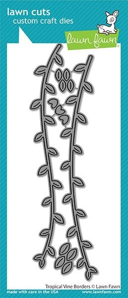Lawn Fawn  tropical vine borders lf2616