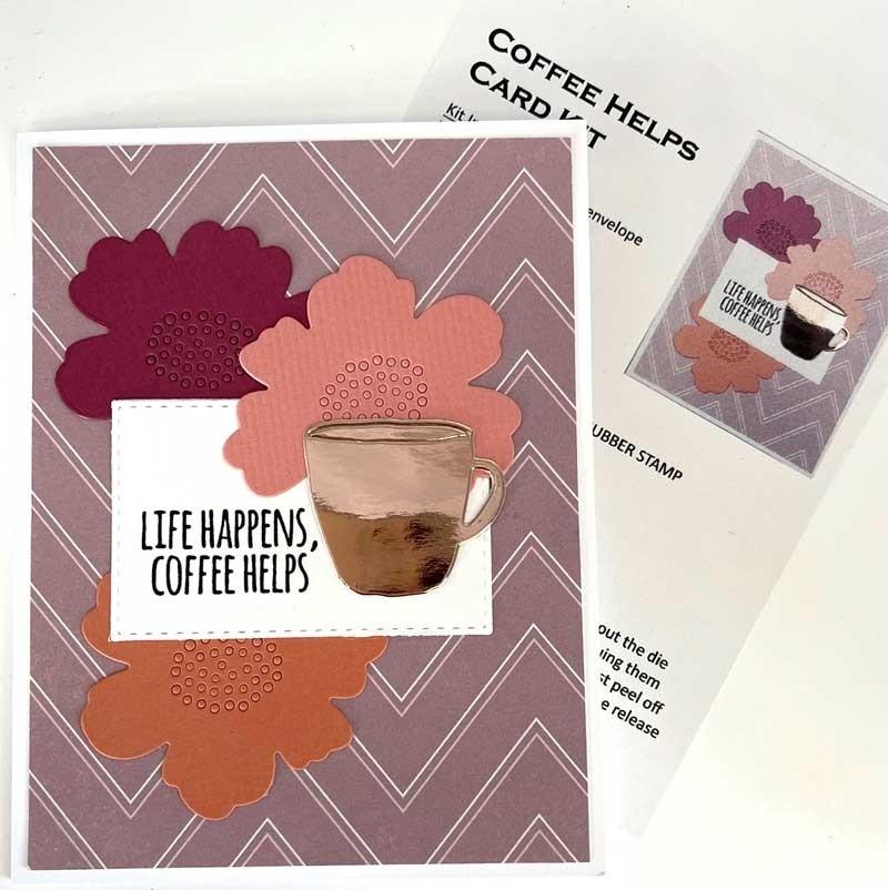 Single Card Kit - Coffee Helps