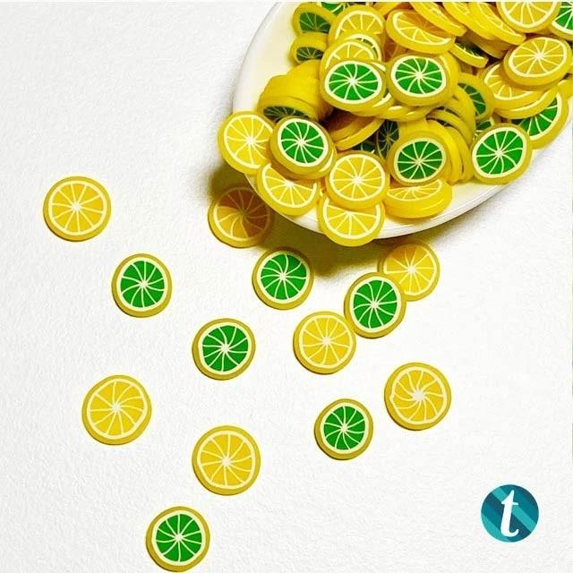 Limeon - Clay Fruit Sprinkles Embellishment Mix