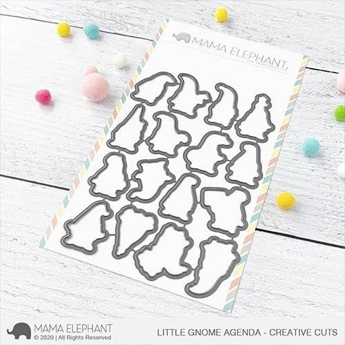 Mama Elephant Little Gnome Agenda - Creative Cuts