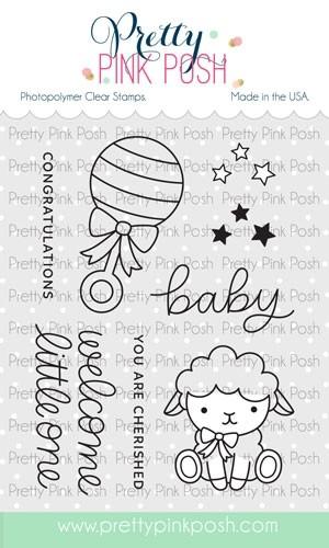 Pretty Pink Posh Little One Stamp Set