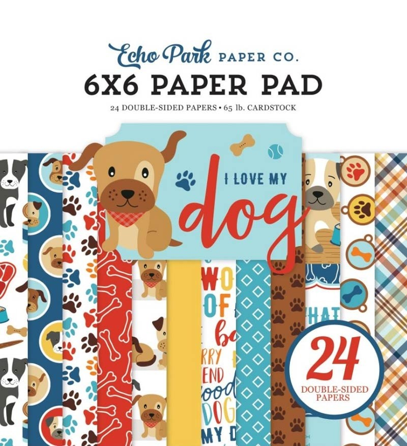 Echo Park Love My Dog Paper Pad