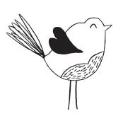 Savvy Stamps love bird 1609d