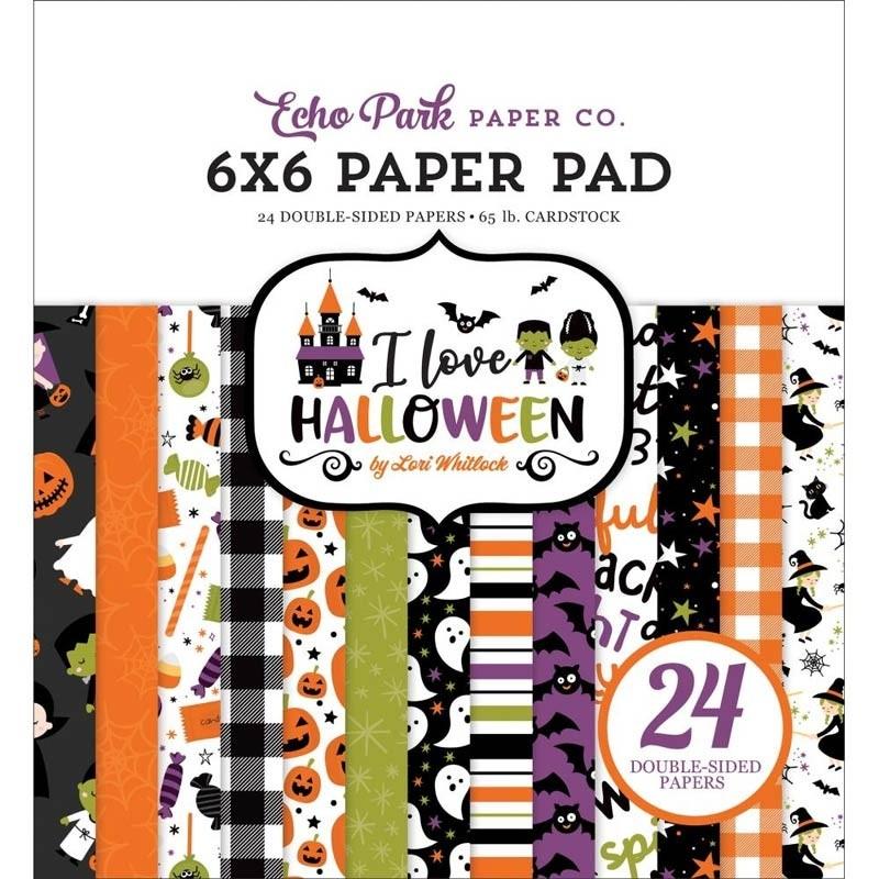 SALE - Echo Park I Love Halloween Paper Pack