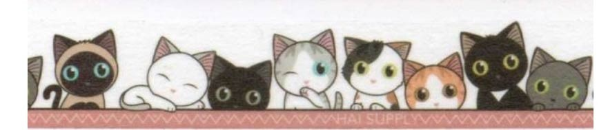 Lucie and Friends Washi Tape