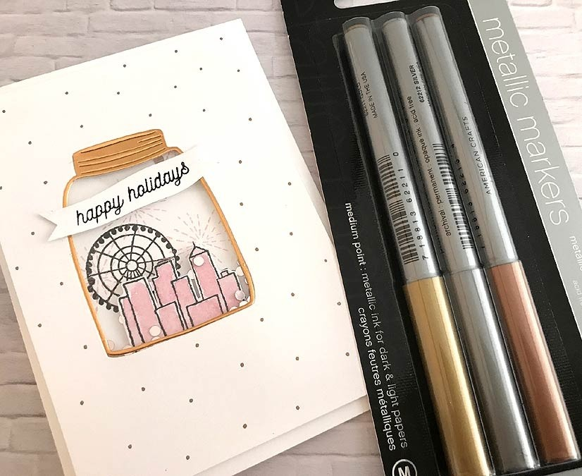Metallic Marker Set from American Crafts