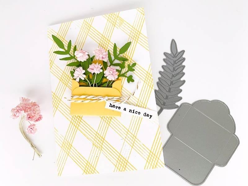 Flora and Fauna Mini Envelope Die 10106