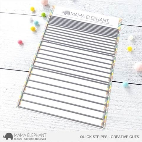 Mama Elephant Quick Stripes - Creative Cuts